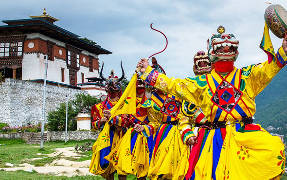 4 Nights 5 Days Bhutan honeymoon packages